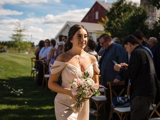 Blythe and Maia's wedding in Caledon, Ontario 37