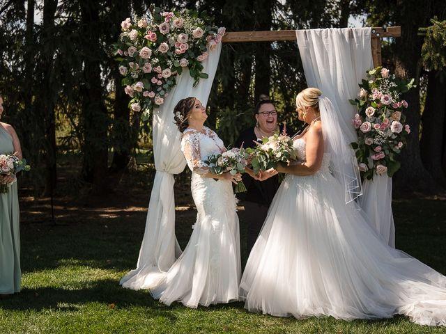 Blythe and Maia's wedding in Caledon, Ontario 44