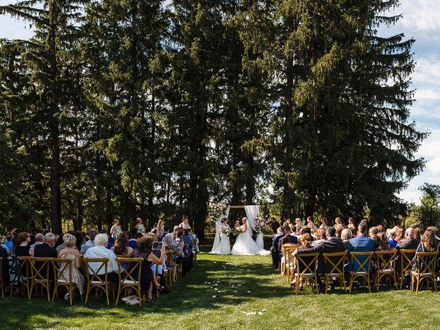 Blythe and Maia's wedding in Caledon, Ontario 45