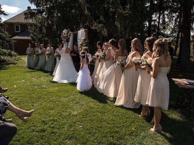 Blythe and Maia's wedding in Caledon, Ontario 46