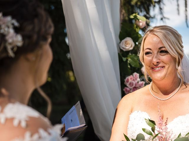 Blythe and Maia's wedding in Caledon, Ontario 48