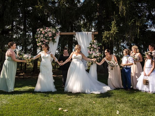 Blythe and Maia's wedding in Caledon, Ontario 49