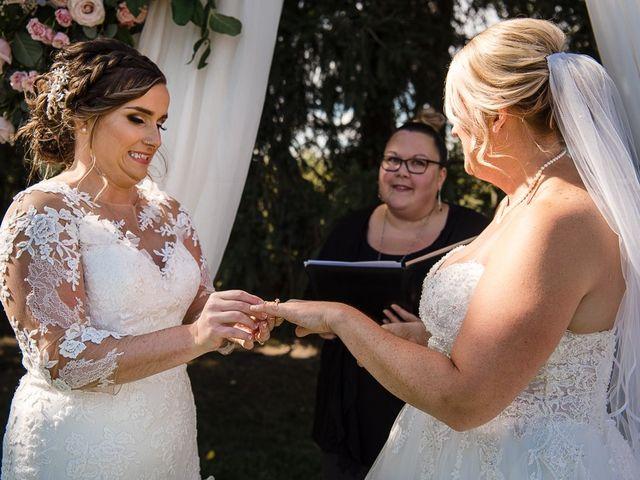 Blythe and Maia's wedding in Caledon, Ontario 51