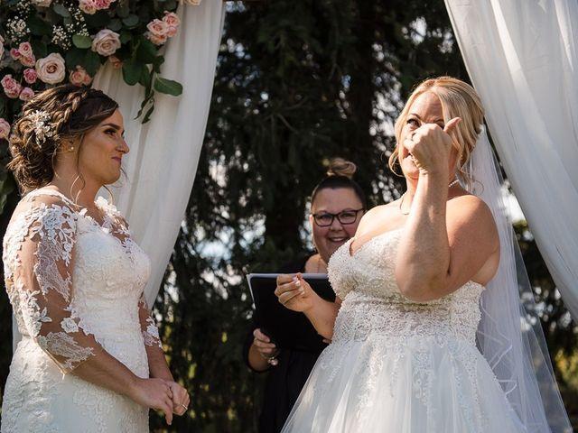Blythe and Maia's wedding in Caledon, Ontario 53