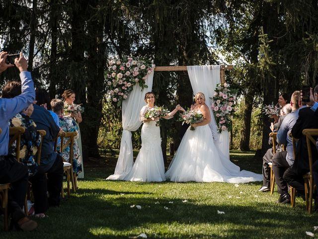 Blythe and Maia's wedding in Caledon, Ontario 54