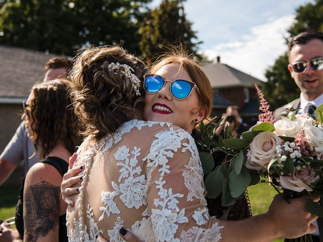 Blythe and Maia's wedding in Caledon, Ontario 56