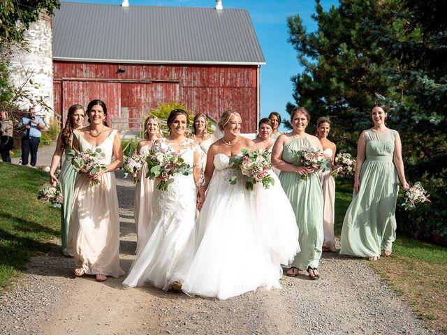 Blythe and Maia's wedding in Caledon, Ontario 59