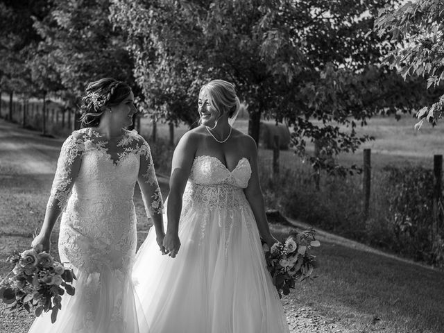Blythe and Maia's wedding in Caledon, Ontario 67