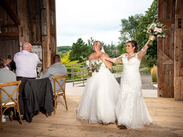 Blythe and Maia's wedding in Caledon, Ontario 75