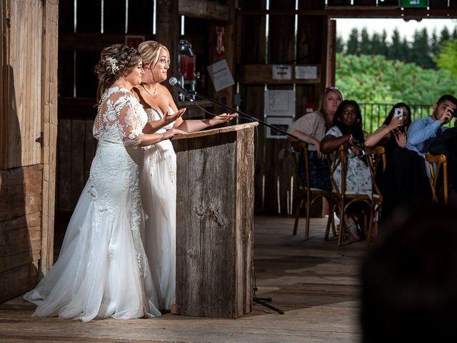 Blythe and Maia's wedding in Caledon, Ontario 85