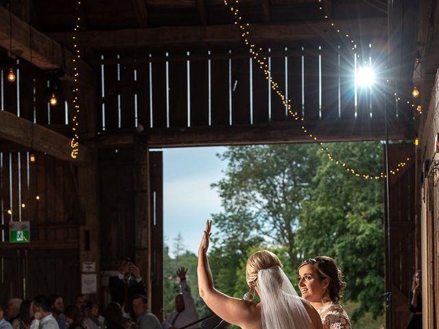 Blythe and Maia's wedding in Caledon, Ontario 87