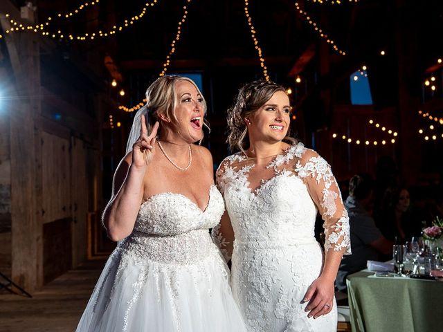 Blythe and Maia's wedding in Caledon, Ontario 89