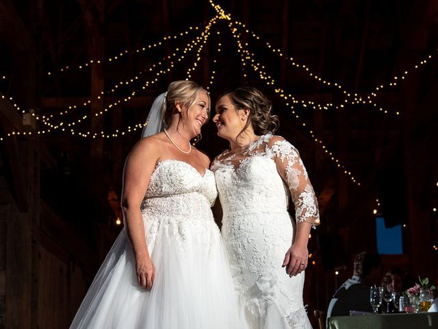 Blythe and Maia's wedding in Caledon, Ontario 90