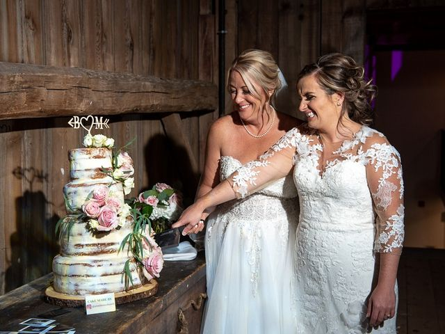 Blythe and Maia's wedding in Caledon, Ontario 93