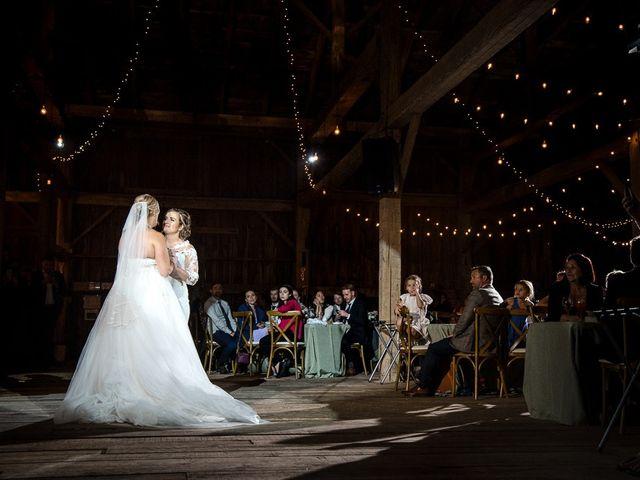 Blythe and Maia's wedding in Caledon, Ontario 94
