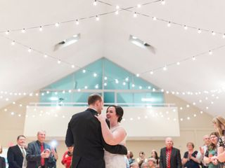 The wedding of Rebecca and Tom
