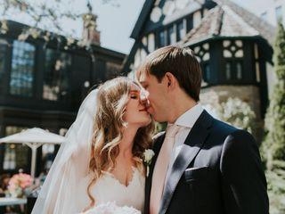 The wedding of Julia and Leo