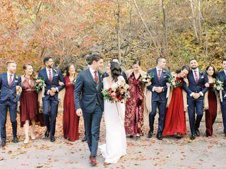 The wedding of Jenn and Matt 1