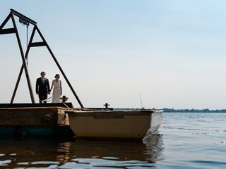 The wedding of Melanie and Jonathan