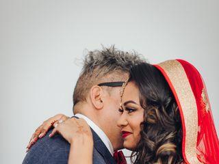 The wedding of Nadia and Tushar 1