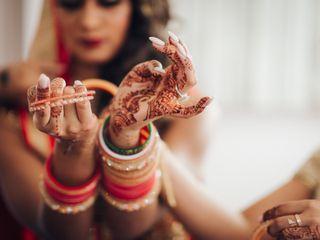 The wedding of Nadia and Tushar 2
