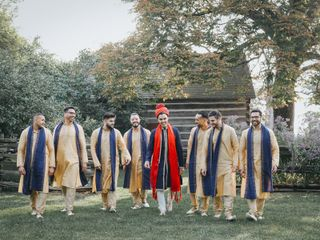The wedding of Nadia and Tushar 3