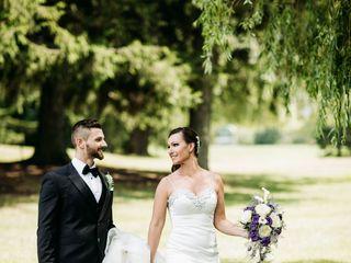 The wedding of Kelly and Luke