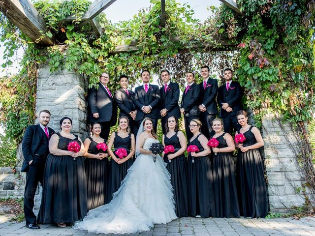 Jordan  and Courtney's wedding in Hamilton, Ontario 4