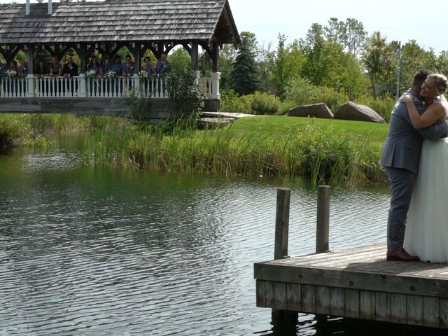 Ryan and Alyssa's wedding in Innisfil, Ontario 4