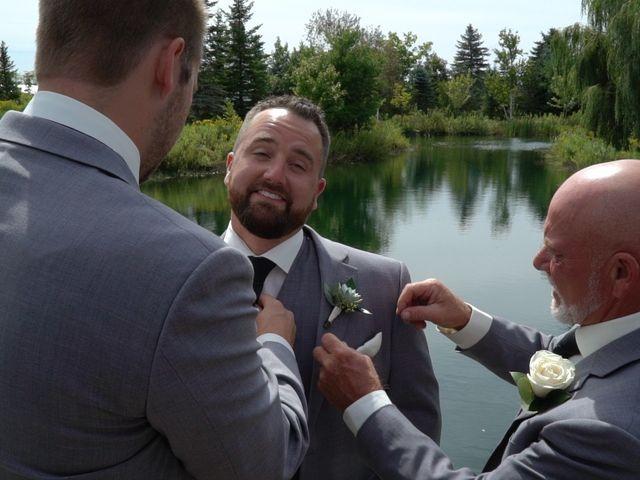 Ryan and Alyssa's wedding in Innisfil, Ontario 5