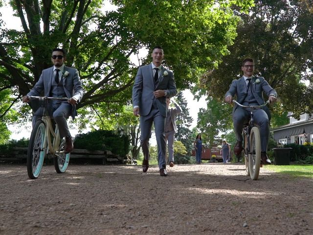 Ryan and Alyssa's wedding in Innisfil, Ontario 2