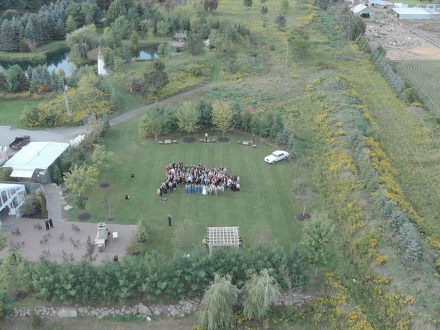Ryan and Alyssa's wedding in Innisfil, Ontario 7