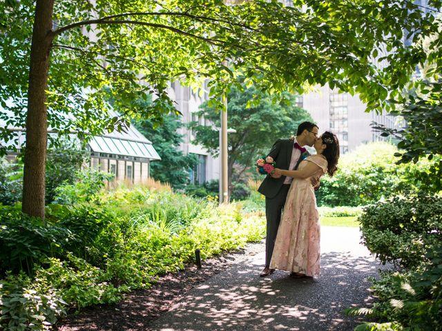 Jonathan and Carmel's wedding in Toronto, Ontario 1