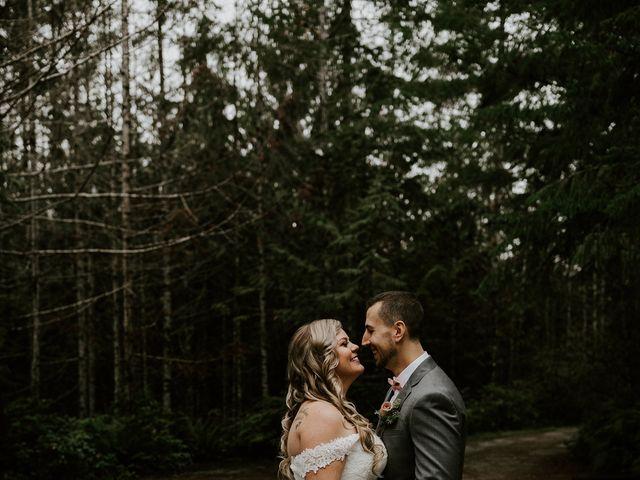 David and Seleena's wedding in Egmont, British Columbia 6