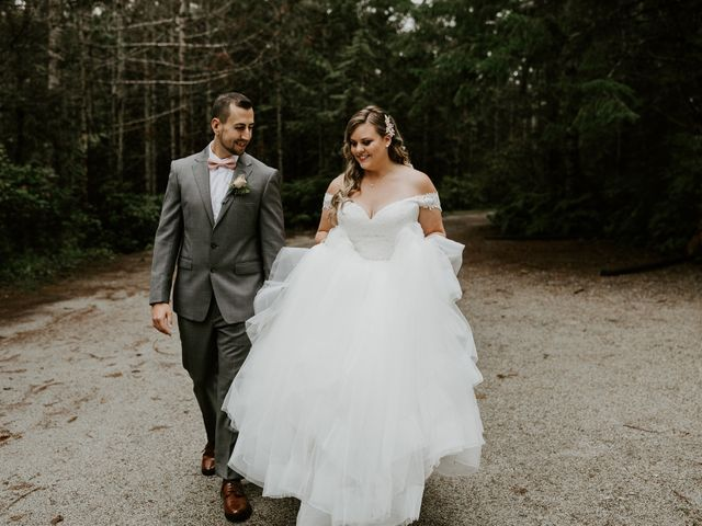David and Seleena's wedding in Egmont, British Columbia 7
