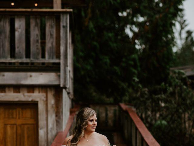 David and Seleena's wedding in Egmont, British Columbia 8