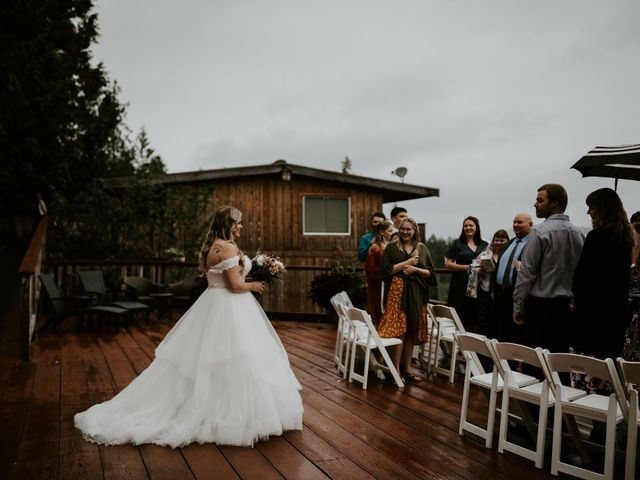 David and Seleena's wedding in Egmont, British Columbia 9