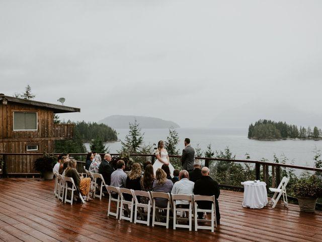 David and Seleena's wedding in Egmont, British Columbia 1