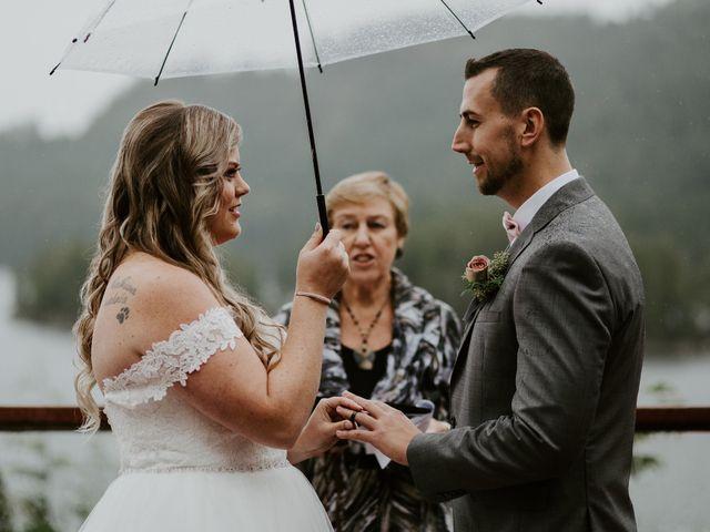 David and Seleena's wedding in Egmont, British Columbia 2