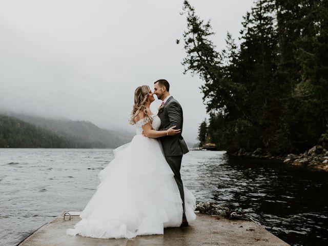 The wedding of Seleena and David