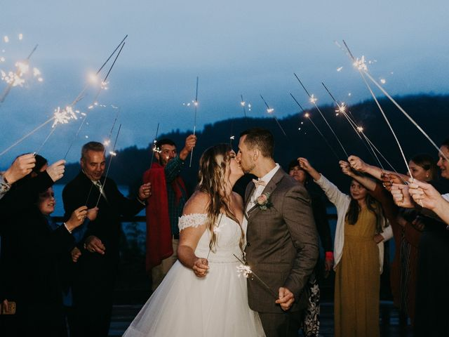 David and Seleena's wedding in Egmont, British Columbia 14