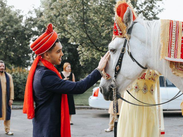 Tushar and Nadia's wedding in Toronto, Ontario 12