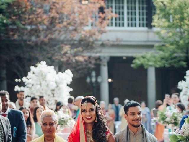 Tushar and Nadia's wedding in Toronto, Ontario 17