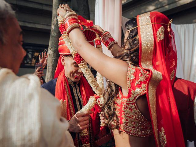 Tushar and Nadia's wedding in Toronto, Ontario 18
