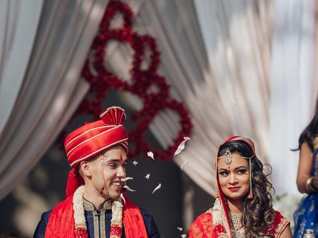 Tushar and Nadia's wedding in Toronto, Ontario 1