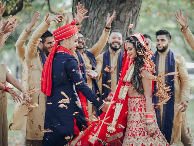 Tushar and Nadia's wedding in Toronto, Ontario 29