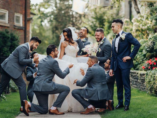 Tushar and Nadia's wedding in Toronto, Ontario 49