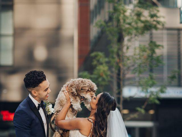 Tushar and Nadia's wedding in Toronto, Ontario 2