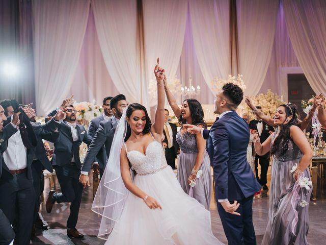 Tushar and Nadia's wedding in Toronto, Ontario 86