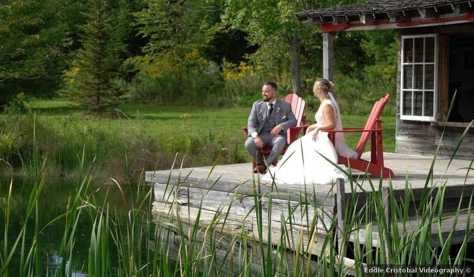 Ryan and Alyssa's wedding in Innisfil, Ontario